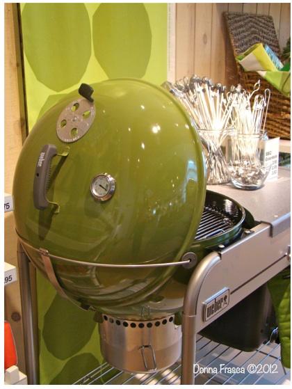 Retro Green Grill Crate & Barrel Donna Frasca