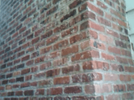 Paint Removal Clean Brick Chimney