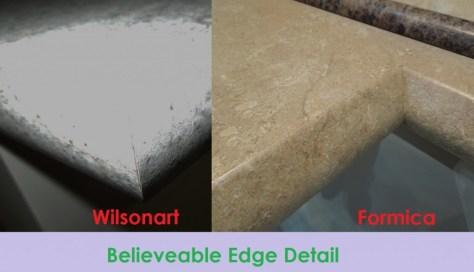 Wilsonart and Formica Edge Details image via the Decor Girl