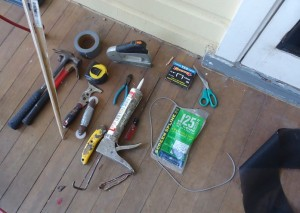 Tools and Materials Needed for a Screen Door Install
