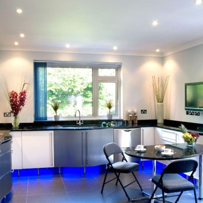 Kitchen Spot Lights & Cabinet Uplighting