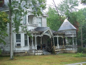 A Fixer Upper :: Old Dilapidated Gothic House