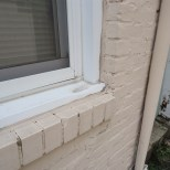 Other Windows on the House had Aluminum Capping Sill First
