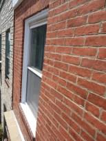 Window in Brick Recapped with Aluminum