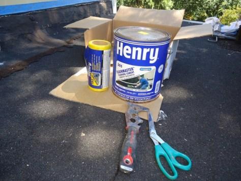 Fall DIY :: Henry 505 FlashMaster with Repair Fabric
