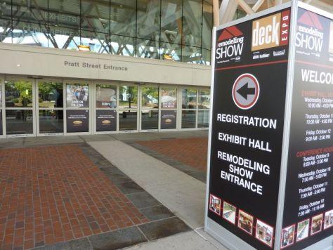 Entrance 2012 Remodeling Show Baltimore
