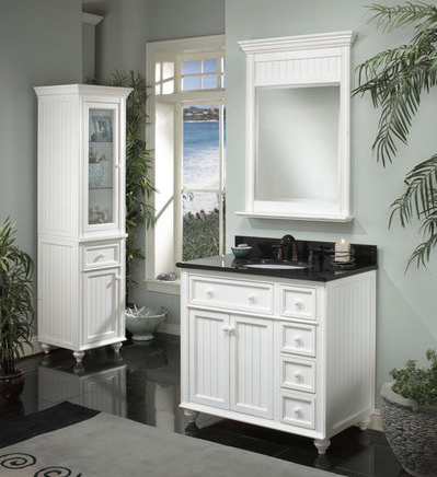 Bathroom Vanity Combos :: Early American Style Vanity Combo