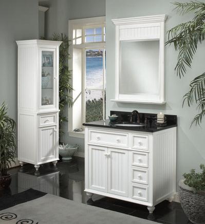 Bathroom Vanity Combos :: Early American Style Vanity Combo