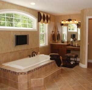 Reasons to Remodel :: Tiled Bathroom
