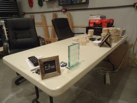 Ethan Hagans Workshop Desk