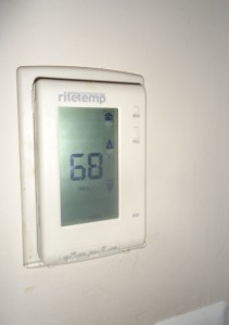 digital programmable thermostat