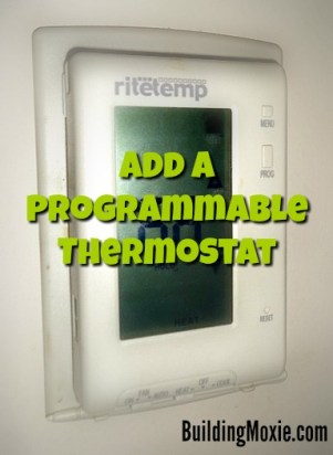 Add a Programmable Thermostat