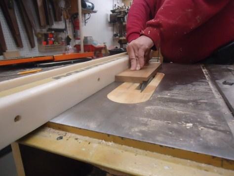 making notch cuts using a dado kit