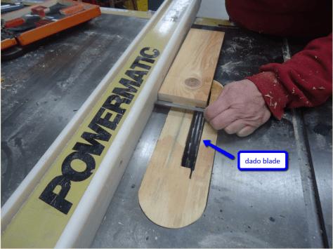 setting up dado blade