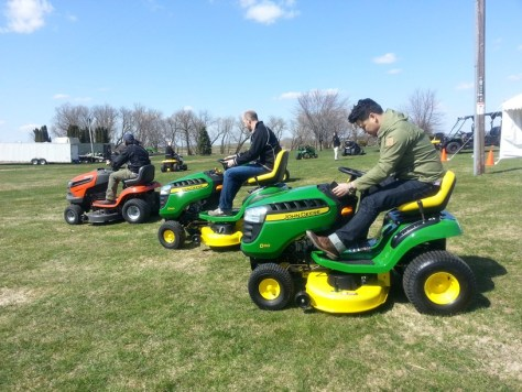 John Deere Test Drives at Horicon Works Media Event