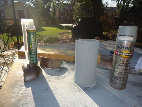 materials for repairing cracked terracotta bell