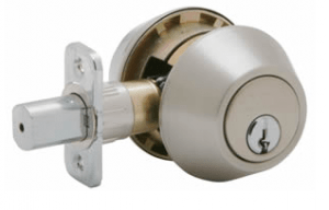 double cyclinder dead bolt
