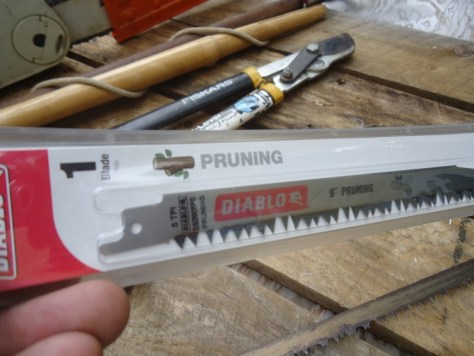 diablo pruning blade