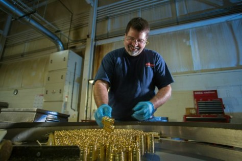 Brass at Jackson Plant