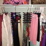 Tie and Belt Organization helps Divide Small Items