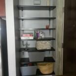 open shelf storage