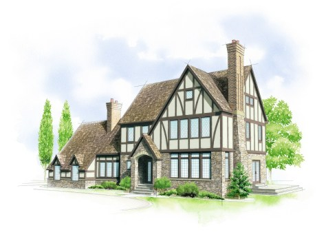 American Home Style :: Tudor
