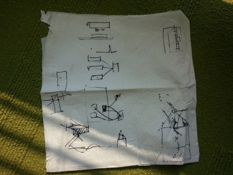 building science on a napkin