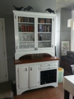 painted sideboard dining room