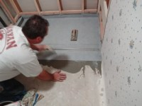 Installing a Zero Clearance Shower Drain || Building Moxie