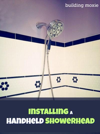 Installing a Headheld Showerhead