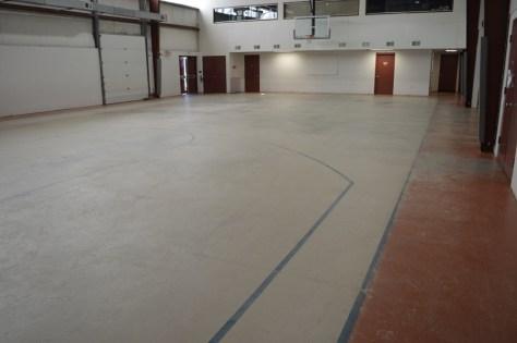 4200sf basketball court
