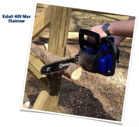 Kobalt 40V Max Chainsaw