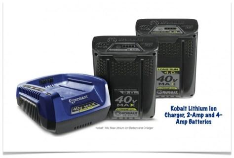 Kobalt 40V Max Batteries