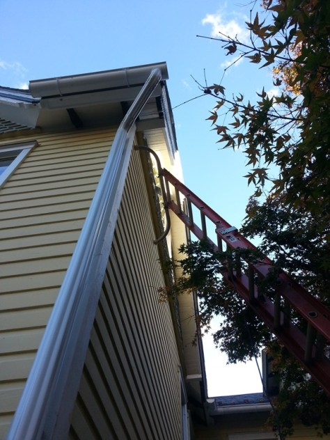 32 foot ladder bath fan venting