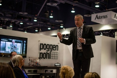 Martin Gill Speaking at Poggenpohl KBIS