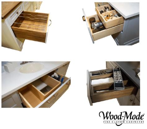 Storage options Wood-Mode