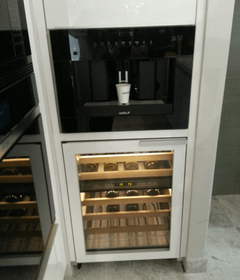 Sub-Zero Wine Storage Wine Coffee Maker