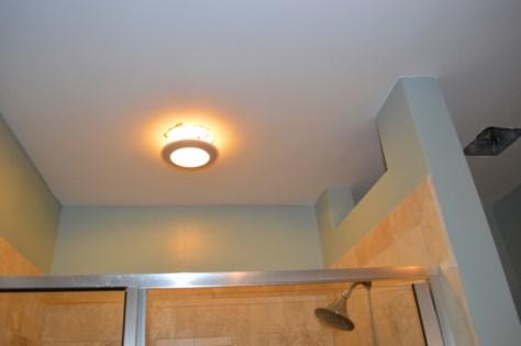 finished bath ceiling