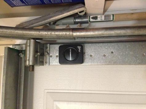 garage door mount for MyQ