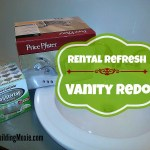 new vanity faucet countertop paint