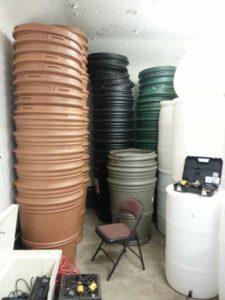 Rain Barrel Selection Blue Water Baltimore