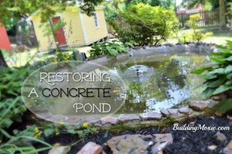 How to Restore a Concrete Pond