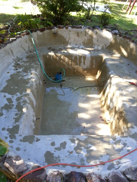 Filling Large Pond