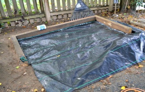 Installing Landscape Fabric