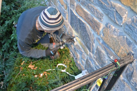 Installing the Power Adapter Bracket