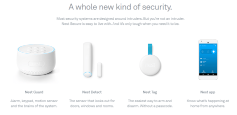 Nest Secure Components
