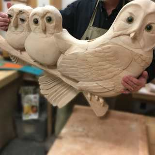 Owl Seat in the Works