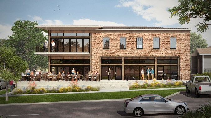 Rendering of the Northstar mixed-use building. Image courtesy Northstar Builders.