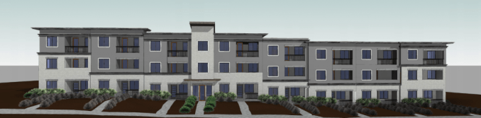 Preliminary rendering of the west face of the 35 S. 900 East development. Image courtesy Salt Lake City planning documents.