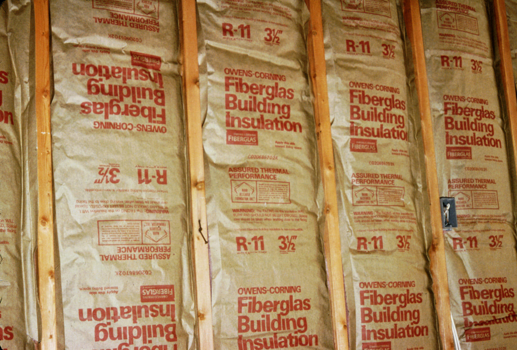 Vapor Barrier Over Faced Insulation